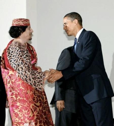 Obama_Gadaffi